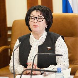 Сенатор от Приморского края Людмила ТАЛАБАЕВА