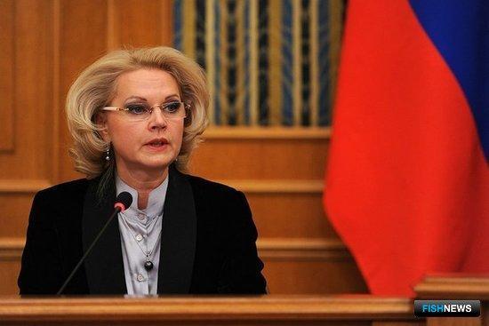 Председатель Счетной палаты Татьяна ГОЛИКОВА. Фото пресс-службы президента РФ.