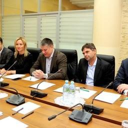 Представители рыбной отрасли на встрече с руководством Россельхознадзора. Фото пресс-службы ведомства