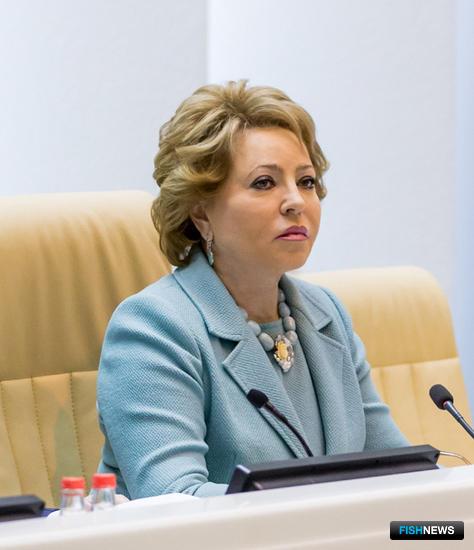 Председатель Совета Федерации Федерального Собрания Российской Федерации Валентина МАТВИЕНКО. Фото пресс-службы Совфеда