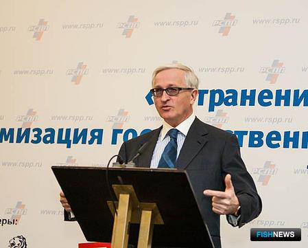 Александр ШОХИН. Фото пресс-центра РСПП.