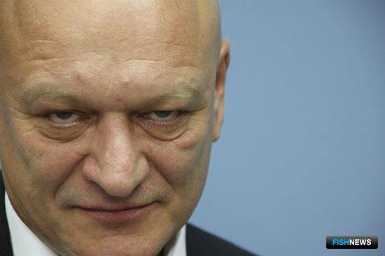 Руководитель Центра общественных связей Росрыболовства Александр САВЕЛЬЕВ