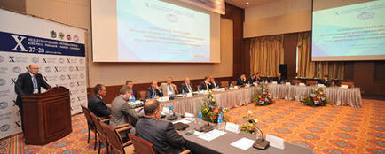 Пленарное заседание X Международного конгресса рыбаков во Владивостоке