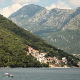 Черногория поразила экипаж судна и практикантов своей первозданной красотой. Фото Александра Кучерука.