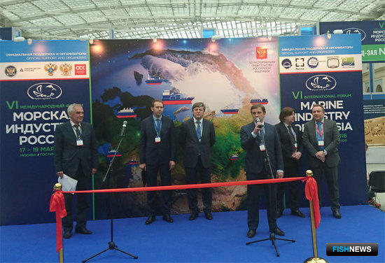 Руководитель Росрыболовства Илья ШЕСТАКОВ на церемонии открытия форума