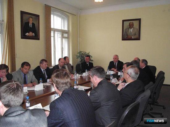 Совещание руководства Пограничной службы ФСБ России с представителями рыбохозяйственных организаций и ассоциаций, Москва, 12 октября 2010 г.