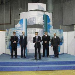 12-я международная рыбопромышленная выставка «Море. Ресурсы. Технологии 2011». Мурманск, март 2011 г.